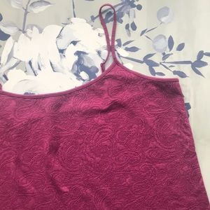 LOFT Outlet Paisley Textured Camisole XL